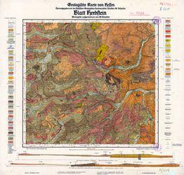 [5422] Herbstein, Geologische Karte von Hessen Thematische Karten - Physische Karten