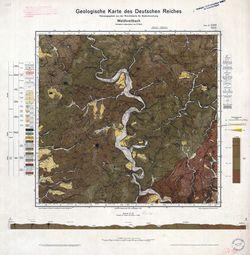 3158 5410 Waldbreitbach, Geologische Karte des Deutschen Reiches Thematische Karten - Physische Karten