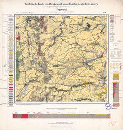 [5367] Tepliwoda, Geologische Karte von Preußen und benachbarten deutschen Ländern Thematische Karten - Physische Karten