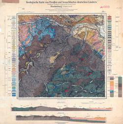 [5333] Blankenburg (Schwarzatal), Geologische Karte von Preußen und benachbarten deutschen Ländern Thematische Karten - Physische Karten