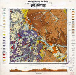 [5322] Lauterbach, Geologische Karte von Hessen Thematische Karten - Physische Karten