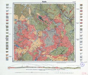 [5246] Sayda Thematische Karten - Physische Karten