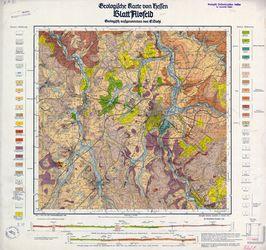 [5221] Alsfeld, Geologische Karte von Hessen Thematische Karten - Physische Karten