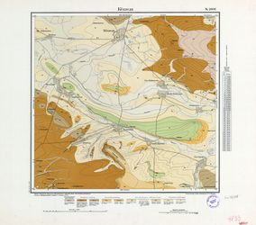 [4833] Cölleda (russ) Thematische Karten - Physische Karten