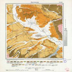 [4829] Langensalza (russ) Thematische Karten - Physische Karten