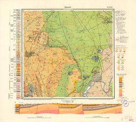 [4036] 2238 Calbe a. d. Saale Thematische Karten - Physische Karten