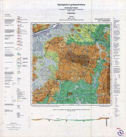 1823 Todenbuettel, Geologische Landesaufnahme von Schleswig-Holstein Thematische Karten - Physische Karten