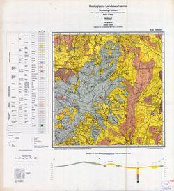 1824 Holtdorf, Geologische Landesaufnahme von Schleswig-Holstein Thematische Karten - Physische Karten