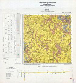 1923 Hohenwestedt, Geologische Landesaufnahme von Schleswig-Holstein Thematische Karten - Physische Karten
