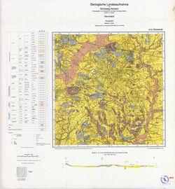 1924 Hennstedt, Geologische Landesaufnahme von Schleswig- Holstein Thematische Karten - Physische Karten