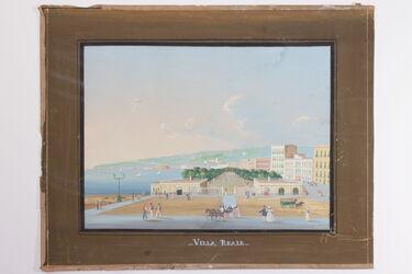 Gemälde Villa Nationale di Napoli