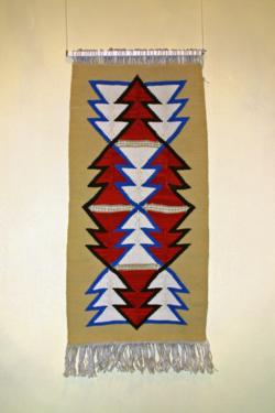 Freester Fischerteppich Rote und weiße Eichenblätter