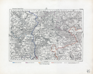 Reymann's Special-Karte, [Blatt] 045. Dramburg; Reymann, Hammer, Hertzberg, 1806 - 1908, [nach 1844], AltKW/C15.01/00001/045 (2)