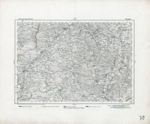 Reymann's Special-Karte, [Blatt] 070. Diepholz; Reymann, Berghaus, v. Trettau, Jättnig, 1820, Berichtigt 1871, AltKW/C15.01/00001/070 (2)