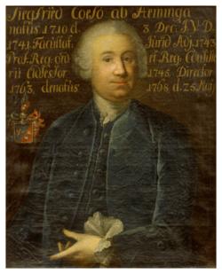 KU000326; Aeminga, Siegfried Caeso von (1710-1768); Gemälde