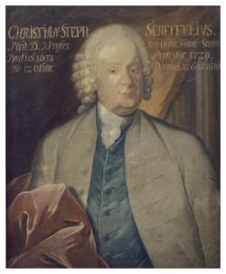 Gemälde Scheffel, Christian Stephan
