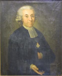 Gemälde Porträt Schlegel, Gottlieb