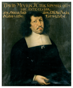 KU000171; Mevius, David; Gemälde