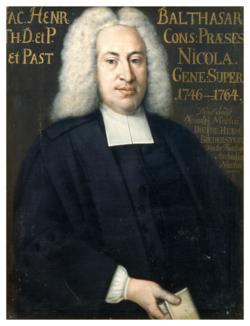 Gemälde Balthasar, Jacob Heinrich