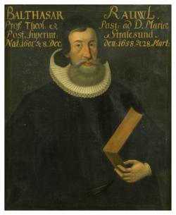 Gemälde Rhaw, Balthasar (1601-1658)