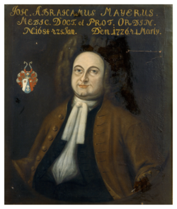 Gemälde Mayer, Johann Abraham