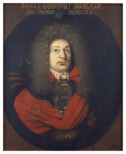 Gemälde Burgmann, Jonas Georg