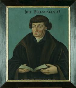 KU000079; Bugenhagen, Johann; Gemälde