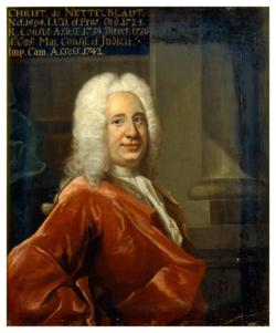 KU000053; Nettelbladt, Christian; Gemälde