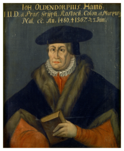KU000050<br>Oldendorp, Johann<br>Gemälde