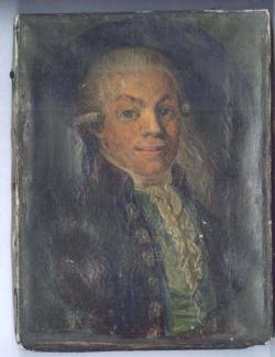 Gemälde Porträt Heinrich Ehrenfried Warnekros
