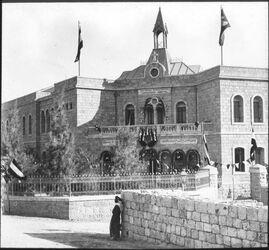 Glasplattendia Deutsches Hospital [Jerusalem]