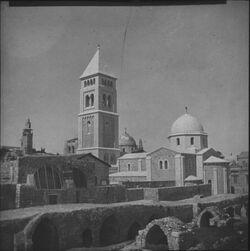 Glasplattendia Erlöserkirche, Jerusalem