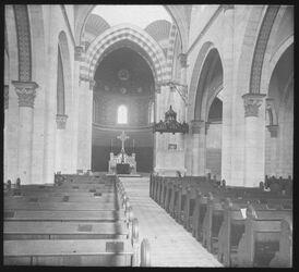 Glasplattendia Erlöserkirche (Innenansicht) [Jerusalem]