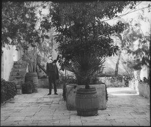 A I 18; Glasplattendia; Johanniterhospiz (Hof) [Jerusalem]