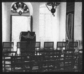 Glasplattendia Untere Halle des Instituts v. O. [Deutsches Palästinainstitut, Jerusalem]