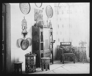 Glasplattendia Obere Halle des Instituts, Ostseite [Deutsches Palästinainstitut, Jerusalem]