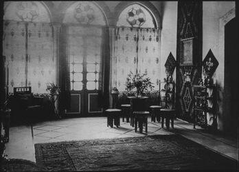 Glasplattendia Obere Halle im Inst.haus, Jerusalem [Deutsches Palästinainstitut, Jerusalem]