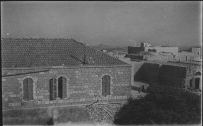 Glasplattendia Institutshaus [Bethlehem, Herodium]