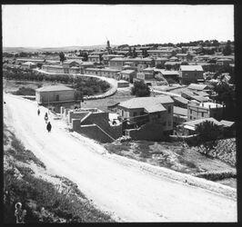 Glasplattendia Montefiore-Kolonie (v. NO) [Jerusalem]
