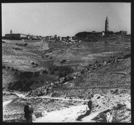 Glasplattendia Russenkuppe (v. S) [Jerusalem]