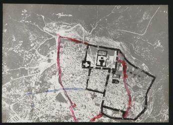 Glasplattendia Jerusalem 1917 Flieger