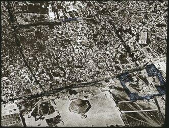 Glasplattendia [Handschrift] Jerusalem, innere Stadt v. O