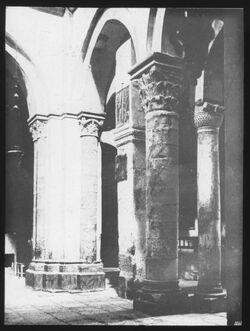 Glasplattendia Nördliches Querschiff der Grabeskirche Am. Kol. [Jerusalem]
