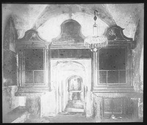 Glasplattendia Gefängnis Christi in der Grabeskirche [Jerusalem]