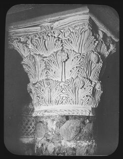 A IX 4; Glasplattendia; Kapitel im Nördl. Transept der Grabeskirche [Jerusalem]