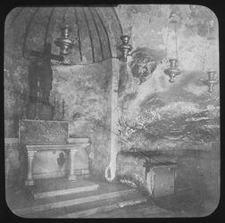 Glasplattendia Kreuzfindungskapelle, Kreuzfind.-Stätte, Grabeskirche Jerusalem