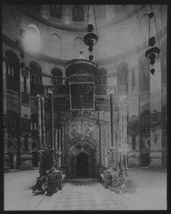 Glasplattendia Grabkapelle [Jerusalem]
