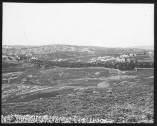 Glasplattendia Panorama v. Jerus. Nr. IV