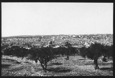 Glasplattendia Jerusalem v. O. I