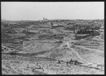 Glasplattendia Jerusalem v. Ölberg Pan. I
